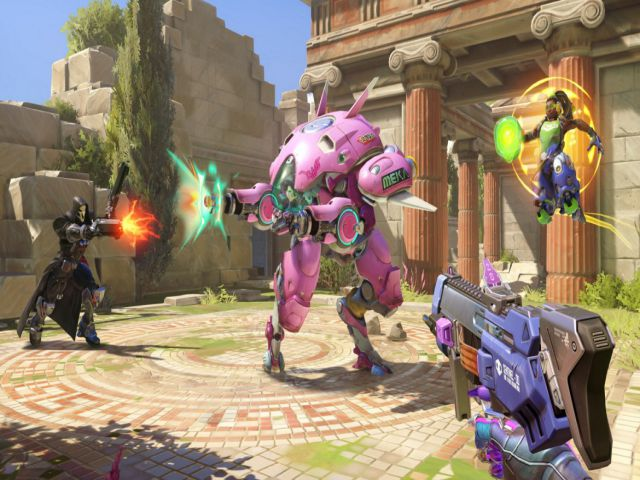 Đồ họa trong game của Overwatch
